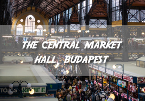 The Central Market Hall, Budapest