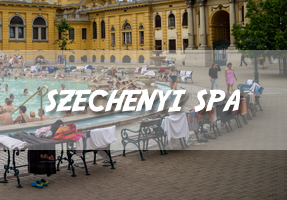 Szechenyi Spa and Baths, Budapest
