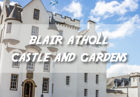 Blair Atholl Castle and Gardens
