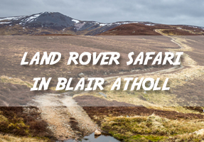 Land Rover Safari in Blair Atholl and Glen Tilt