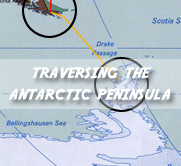 Traversing the Antarctic Peninsula