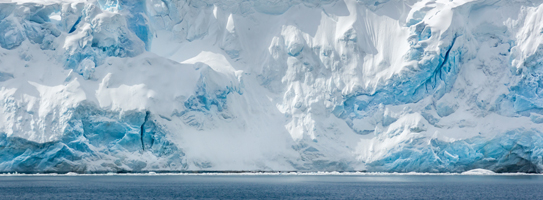 Immense ice-cliffs of Anvers Island