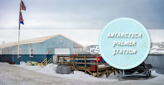 Visiting the Palmer Research station on Anvers Island, Antarctica
