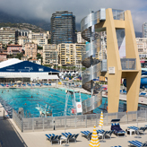 Monaco municipal swiming pool