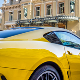 Ferrari GTO 590 outside Monte Carlo Casino