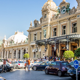 The decadent Monte Carlo Casino