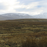 Ingleborough mountain range