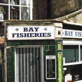 Fish shop in Robin Hod's Bay