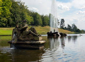 Emperor Fountain at Chatsworth House, Derbyshire