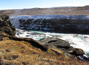 Top section of Gullfoss waterfall - Simply amazing