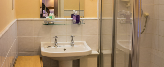 Bathroom at Boffin Lodge