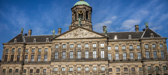 The Royal Palace in Dam Square
