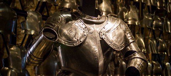 Suit of armour inside the White Tower